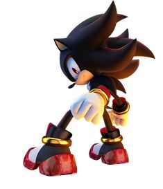 Another quick work. One of our favorite hedgehogs. I was going to make it Super Shadow, that is why his gold and red cuffs are missing (and hence the aw. Shadow the Hedgehog Shadow The Hedgehog, Hedgehog Art, Sonic The Hedgehog, Silver The Hedgehog, Sonic Dash, Sonic And Amy, Sonic And Shadow, Sonic Boom, Super Shadow