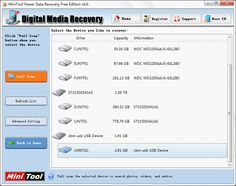 How to perform digital picture recovery with MiniTool Power Data Recovery.