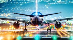 伊丹空港の「美しすぎる離陸の瞬間」 night-view-of-osaka-airport2015-11-10