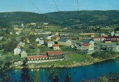 Sør-Trøndelag fylke Åfjord kommune Årnes i kommunesenteret  Å i Åfjord