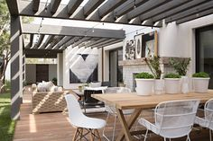 Modern Outdoor Furniture, Outdoor Rooms, Outdoor Decor, Outdoor Art, Rustic Furniture, Outdoor Living Spaces, Antique Furniture, Modern Outdoor Living, Farmhouse Furniture