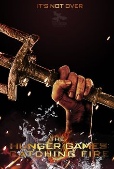 Fan made poster for Finnick in Catching Fire.