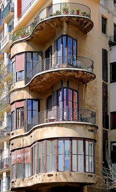 Barcelona - La Diagonal, Spain