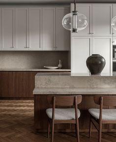Interior Desing, Interior Design Kitchen, Interior Inspiration, Interior Decorating, Interior Office, Decorating Kitchen, Interior Colors, Interior Paint, Modern Interior