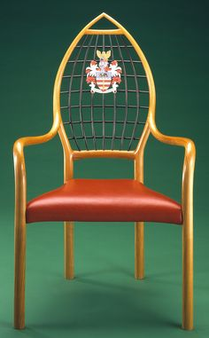 John Makepeace    Furniture Designer and Maker    'Herald' Chair