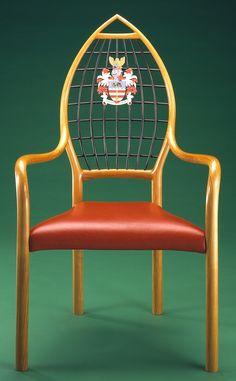 John Makepeace  Furniture Designer and Maker  'Herald' Chair