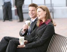 Bones TV Series - Check out the latest news, scheduling and show information. Booth And Bones, Booth And Brennan, Bones Tv Series, Bones Tv Show, Seeley Booth, Temperance Brennan, Fbi Special Agent, Rookie Blue, Emily Deschanel