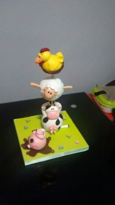 Animal Ball Tower (Curso con Mary Rose Sanchez y Patricia Alonso)