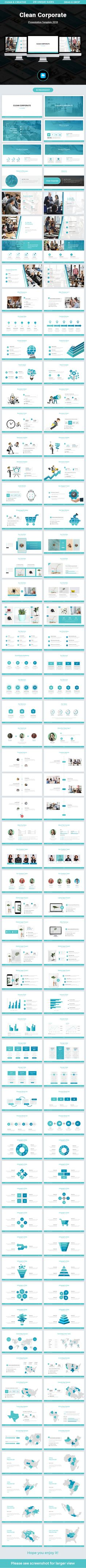 Clean Corporate Keynote Template 2018 - Business Keynote Templates  Download link: https://graphicriver.net/item/clean-corporate-keynote-template-2018/21965822?ref=KlitVogli