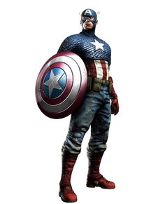 """I think captain America is really """"naff"""" the costume just looks horrible and over the top in the flag and the chatecter isn't really easy to relate to"""