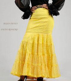 blouses and flamenco skirts - Roal - Romero skirt Superior