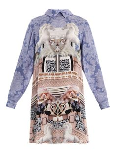 MARY KATRANTZOU Powdy unicorn dress