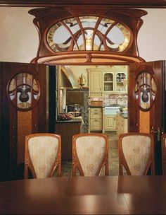Art Nouveau Style House Villa Liberty Moscow, Russia,Art Nouveau Style House, Art Nouveau interior Design | JV