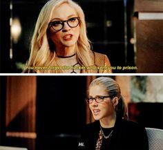 #Arrow - Felicity & Brie #Season4 #4x17
