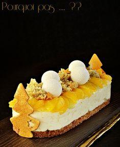 Dessertde fêtes mais adaptable en toute occasion . . .Un reste de mascarpone après la bûche cacao, une envie de cheesecake doudou mais e... Log Cake, Yule Log, Gelato, Cheesecake, Tiramisu, Mousse, Cacao, Occasion, Food