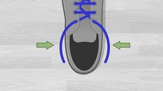 6 Ways to Lace Shoes - wikiHow Lace Converse Shoes, Ways To Lace Shoes, Your Shoes, Different Colors, Lace Up, Shoe