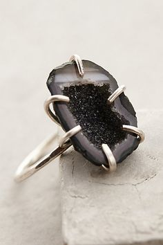Geode Shimmer Ring #anthroregistry
