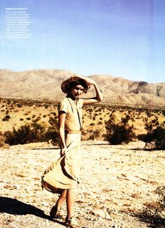 out of africa - Arizona Muse by Peter Lindbergh for Vogue US February 2011