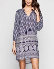Tunic with a great print
