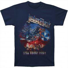 Tricou Judas Priest: Painkiller US Tour 91 - MetalHead Merch Metal Fashion, Judas Priest, Metalhead, Tours, Weapon, Crowd, Personality, Pride, Mens Tops