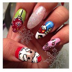 Christmas by handjobsbyallison #nail #nails #nailart