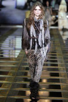 Roberto Cavalli Fall 2010 Ready-to-Wear Fashion Show - Rasa Zukauskaite