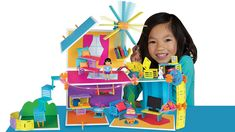 Roominate: A Building Toy for Girls.  Roominate's unique blend of building, circuits, design, crafts, storytelling, and creativity teaches kids while they play. Using motor and light circuits, modular furniture building pieces and walls, Roominate empowers kids to build endless amazing creations!