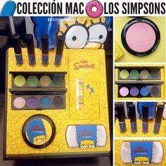 Probamos la colección de MAC Los Simpsons!
