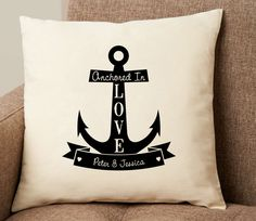Personalized decorative pillows that will prove the old adage true -- home really is where your heart is.