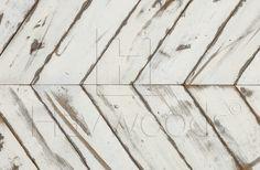 Havwoods I Reclaimed Painted 35 deg Chevron Rustic Grade x Painted Wood Flooring Painted Wood Floors, Real Wood Floors, Wood Flooring, Hardwood Floors, Back Gardens, Restaurant Design, Engineered Wood, Solid Oak, Beautiful Homes