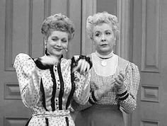 Be supportive and encouraging. | How To Be A Best Friend As Told By Lucy And Ethel