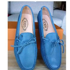 Tip: Tod's Flats (Baby Blue) #tods #shoes #flats