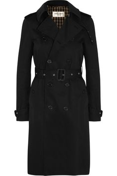 Saint Laurent|Trench-coat en gabardine|NET-A-PORTER.COM