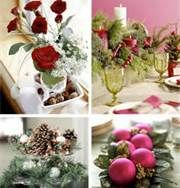 Christmas Table Centerpieces -