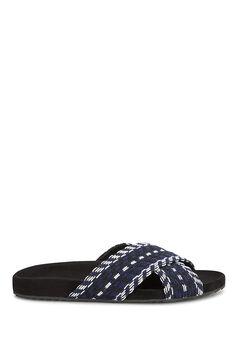 REBECCA MINKOFF Theo Slide Sandal. #rebeccaminkoff #shoes #