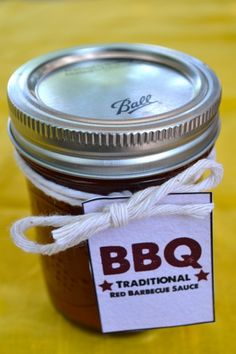 DIY BBQ sauce (3 kinds)!