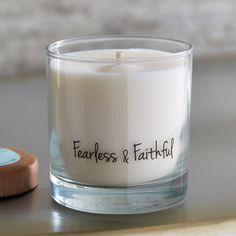 Fearless & Faithful Soy Candle - 11 oz