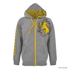 Hufflepuff™ Hooded Sweatshirt Unisex | Hufflepuff™ | Warner Bros Studio Tour London