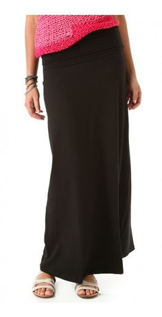 MAXI TUBE SKIRT / DRESS - $23.64  This jersey long skirt features covered elastic banding at the double-layered, fold-over waistband. Can also be worn as a dress.