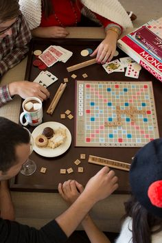 Cozy up with games and loved ones #anthropologie #Pin ToWin