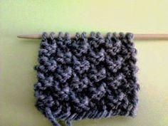 Il punto scacchiera 2/2 Yarn Crafts, Lana, Knit Crochet, Knitting, Feltro, Dots, Tejidos, Weaving, Tricot