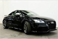 2012 Audi TT RS in Phantom Black