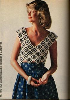 Anything Knitted and Crocheted: Family Circle-July 1975 ideas