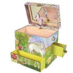 Enchantmints Horse Fairy Music Box by Reeves International - $26.95
