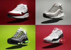 Nike Remixes Air Max Classics with Engineered Mesh