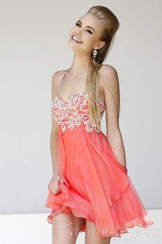 Beautiful A-line Halter Beading Homecoming Dress at Storedress.com