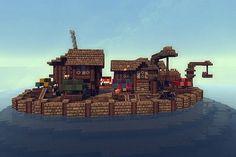 Agyrunn: A medieval island town (pop reel) Minecraft Project