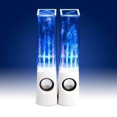 LED Water Dancing Speakers: gobsmackingly brilliant!