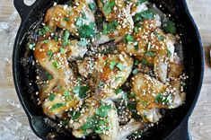 Sticky Thai Wings