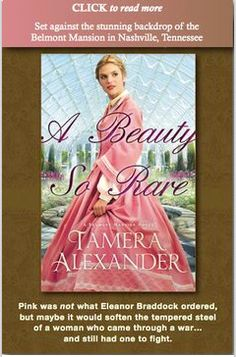 A Beauty So Rare  ~*building a home for destitute widows and children from the Civil War*~ Book 2, A Belmont Mansion Novel by Tamera Alexander